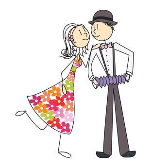 couple accordéon guinguette